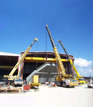 Cranes for Construction Industries, Types of Cranes used in construction in india