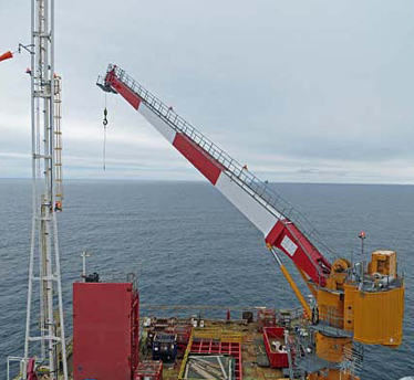Cranes For Heavy Duty Offshore Deployment
