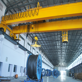 double girder industrial cranes manufacturer, supplier