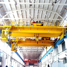 Heavy Duty Double Beams EOT Crane supplier in Ahmedabad, Goliath Crane India, Heavy Duty Goliath Cranes Supplier